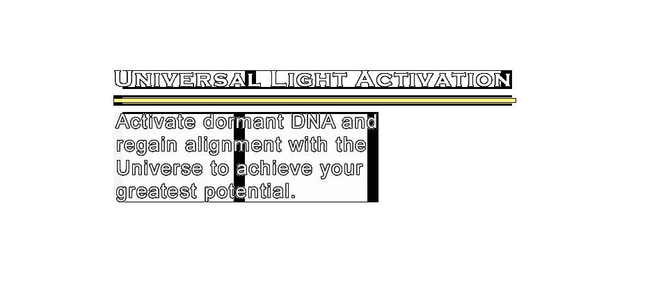 Awakening Codes, Universal Light Frequency